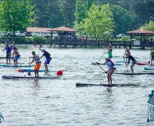 Choo Choo Chase Paddle Race 2017 | Chattanooga, TN SUP, Surfski, Kayak flat water race