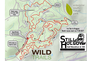 Still Hollow 10K & Half Marathon | Chattanooga Trail Race | Wild Trails